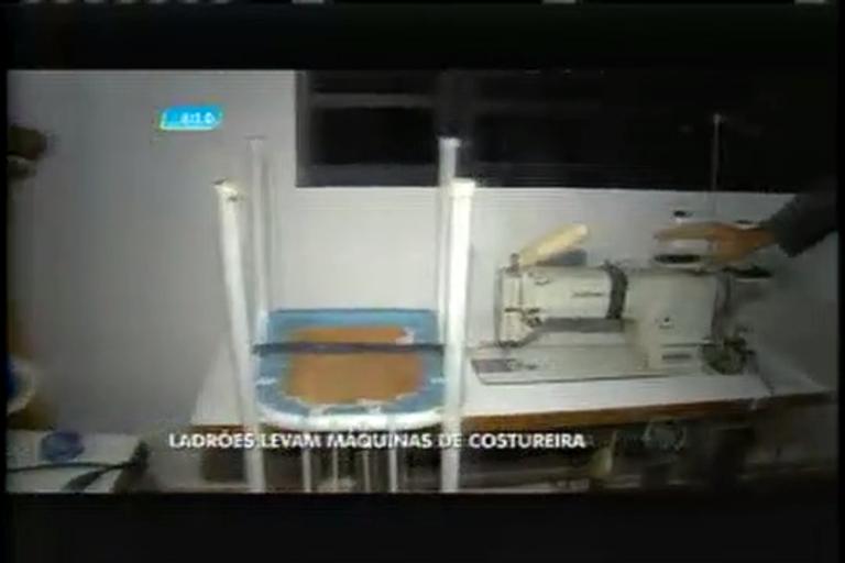 Ladrões furtam máquinas de costureira em Ribeirão das Neves (MG ...