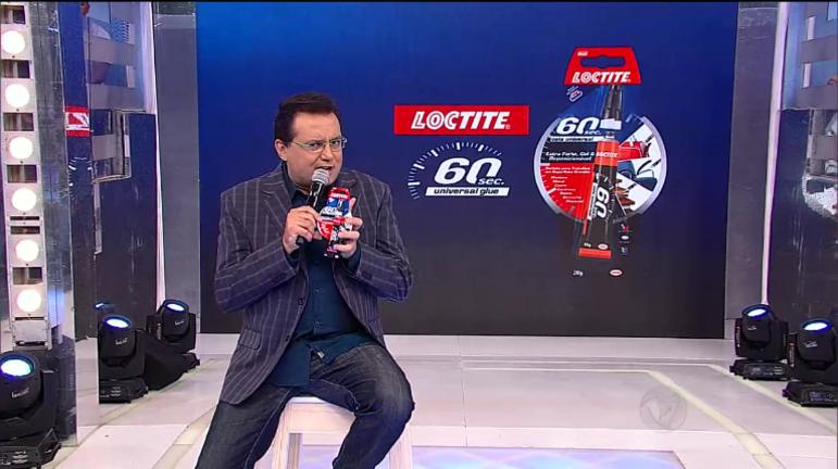 Geraldo Luís aconselha: Loctite 60 Sec. é rápida, fácil de usar e ...