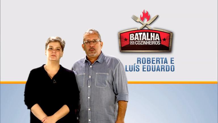 Hoje em Dia desta quarta recebe Roberta e Luís Eduardo, dupla ...