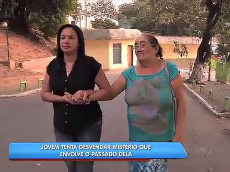 Jovem tenta encontrar a mãe - Rio de Janeiro - R7 Balanço Geral RJ