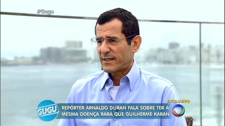 """Arnaldo Duran emociona ao falar sobre luta contra doença: """"Eu ..."""