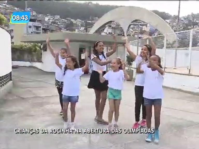 Rio 2016: crianças da Rocinha se preparam para participar de ...