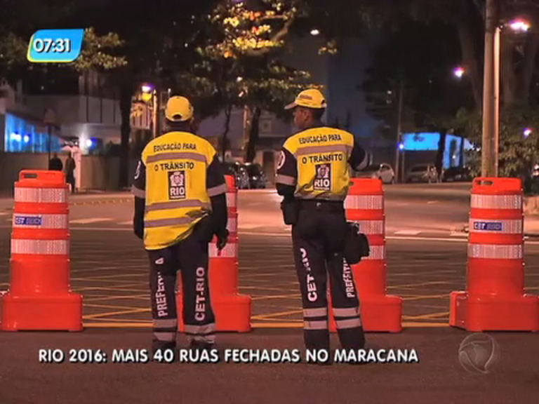 Rio 2016: entorno do Maracanã terá mais de 40 ruas interditadas ...
