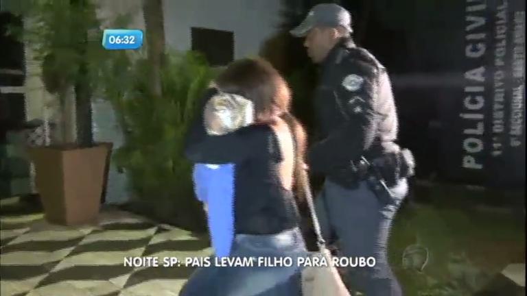 Casal de bandidos leva filho de quatro anos para assaltar ...
