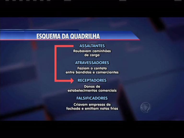 Polícia desarticula quadrilha de roubo de cargas - Rio de Janeiro - R7  Cidade Alerta RJ d372c8c884dc0