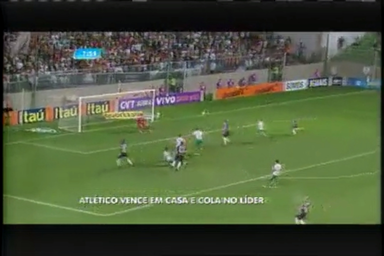 Atlético vence em casa e cola no líder do Brasileirão - Minas Gerais ...