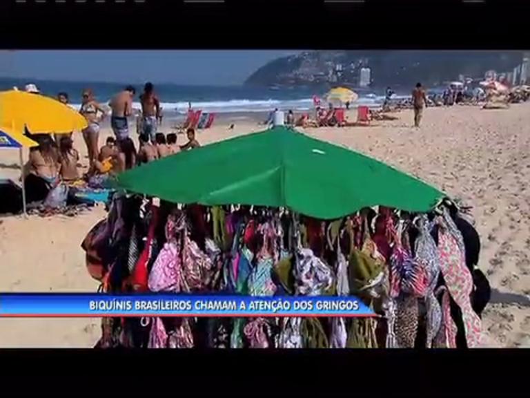 Sungas e biquínis brasileiros chamam a atenção da imprensa ...