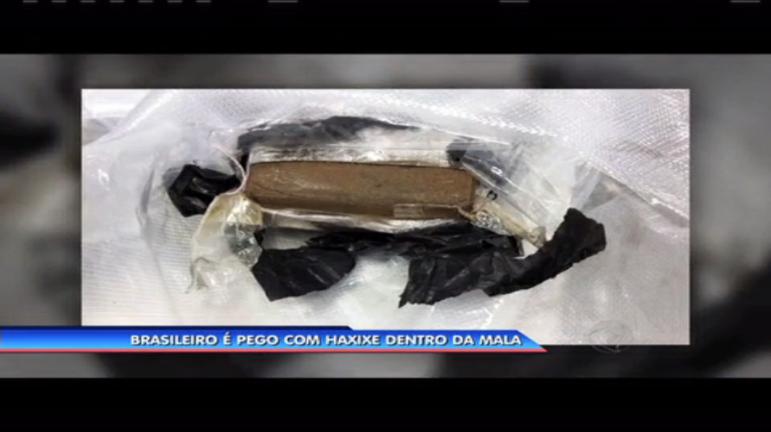 Brasileiro é pego com 11 kg de haxixe no aeroporto do Galeão