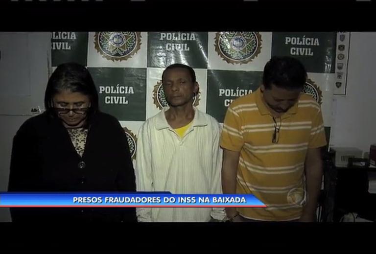 Fraudadores do INSS são presos na Baixada Fluminense - Rio de ...