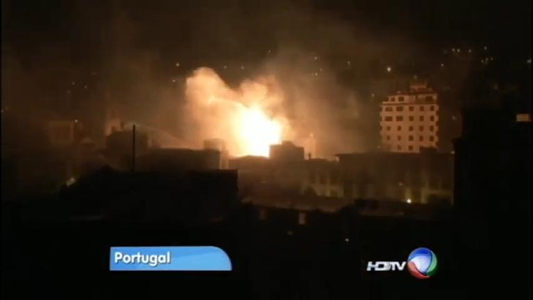 Incêndios florestais atingem várias regiões de Portugal e deixam ...
