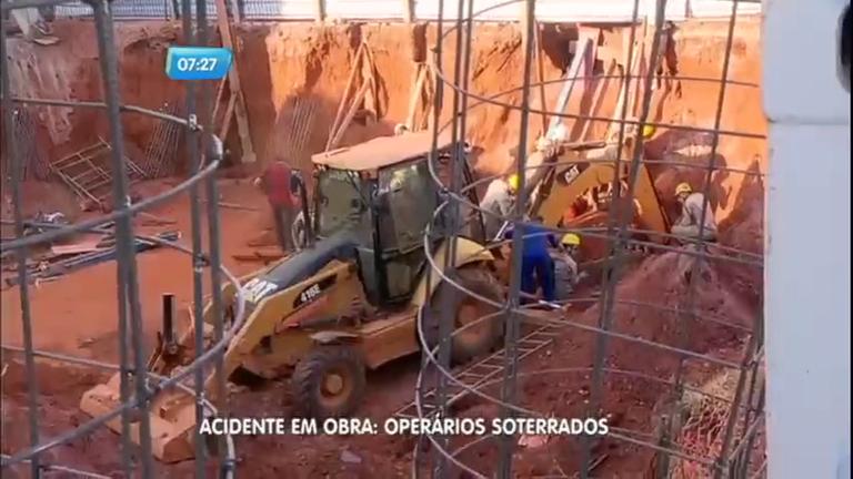 Operários morrem soterrados em obra em Goiânia (GO) - Notícias ...