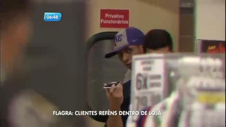Criminosos fazem clientes e funcionários de loja reféns em Belém ...