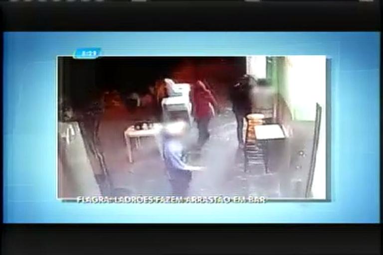 Ladrões armados fazem arrastão em bar da região da Pampulha ...