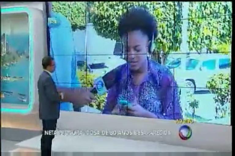 Neta procura idosa desaparecida - Bahia - R7 Balanço Geral BA