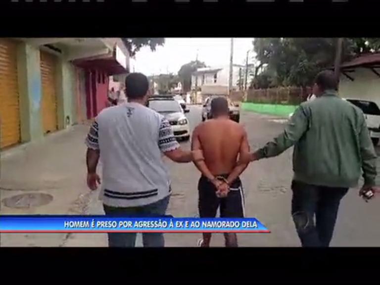 Homem é preso por agressão à ex-companheira e ao namorado ...