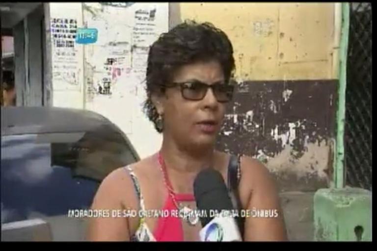 Moradores de São Caetano reclamam de falta de ônibus - Bahia ...