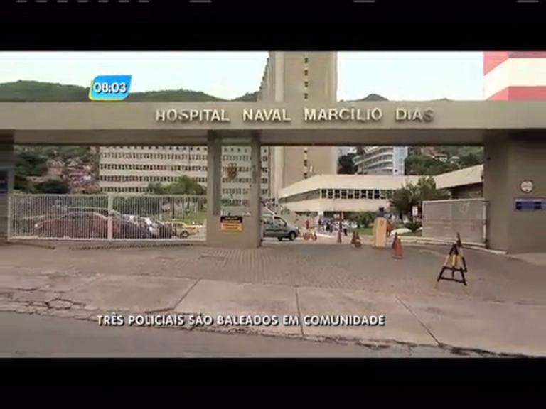 Três PMs são baleados em comunidade da zona norte - Rio de ...