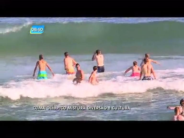 Rio 2016: clima olímpico mistura diversão e cultura - Rio de Janeiro ...