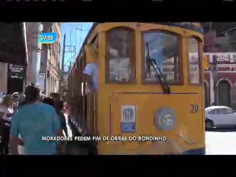 Cariocas pedem fim das obras no bondinho de Santa Teresa - Rio ...