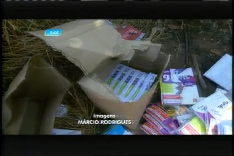 Livros escolares novos são encontrados em lote vago - Minas ...