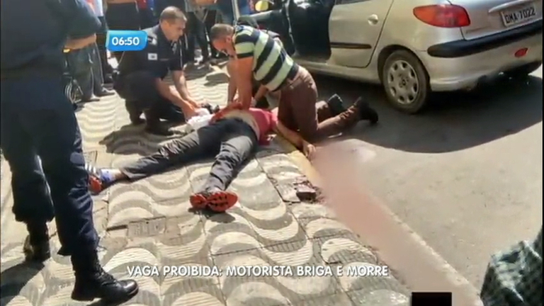 Motorista morre ao brigar no trânsito em Varginha (MG) - Notícias ...