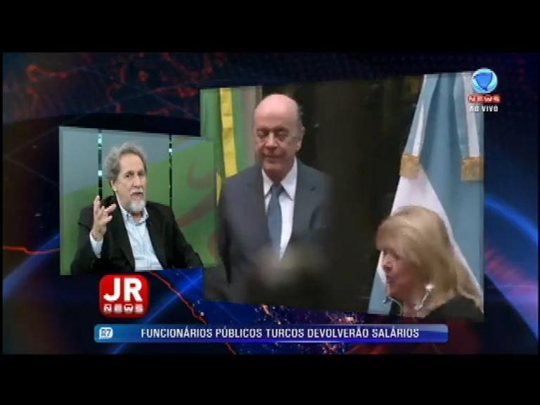 Nirlando Beirão analisa a crise do Mercosul e a declaração do ministro José Serra sobre a Venezuela