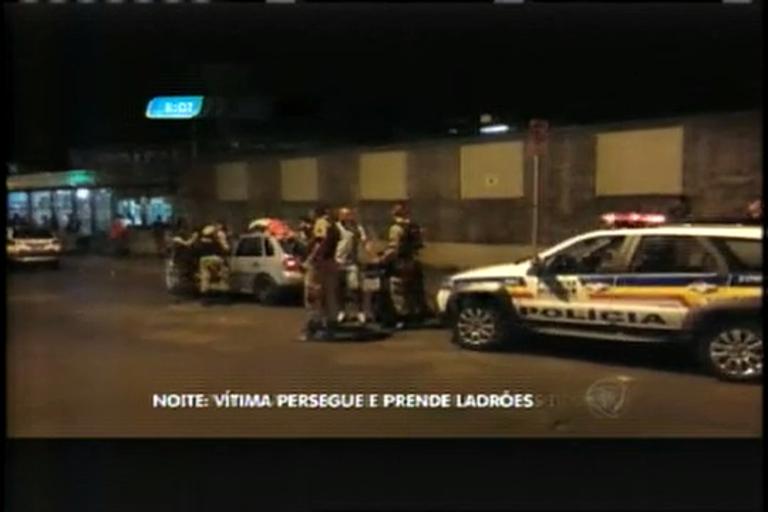 Vítima persegue ladrões e três são presos após série de assaltos ...