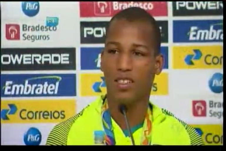 Robson Conceição cumpri promessa e ganha Ouro - Bahia - R7 ...