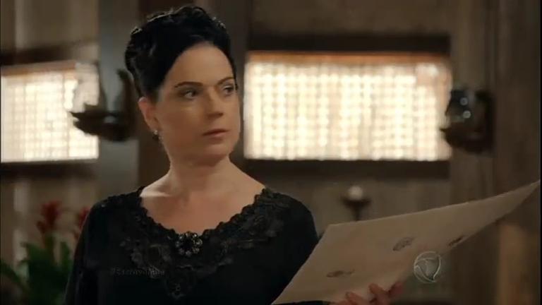 Beatrice lê testamento e diz que Maria Isabel é a única herdeira de ...
