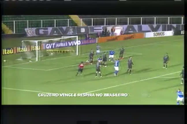 Esporte: Cruzeiro deixa zona de rebaixamento, após vitória contra ...