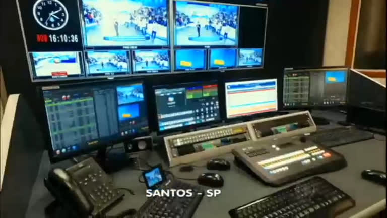 TV Record inaugura sede na cidade de Santos, litoral paulista ...