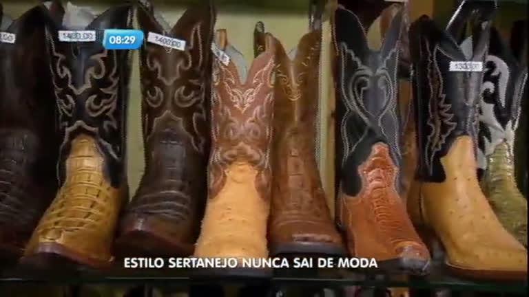 Sempre na moda: conheça as botas usadas pelos sertanejos ...