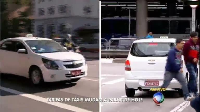Conheça as novas regras para tarifas de táxis em São…