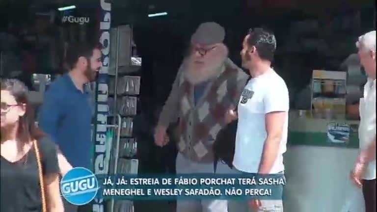 Marcelo Rezende se disfarça de idoso e pede dinheiro para ...