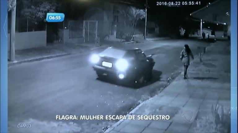 Flagra: mulher escapa de sequestro em Porto Alegre (RS) - Notícias ...