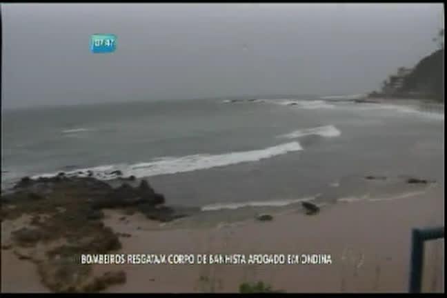 Bombeiros resgatam corpo de banhista afogado em Ondina - Bahia ...