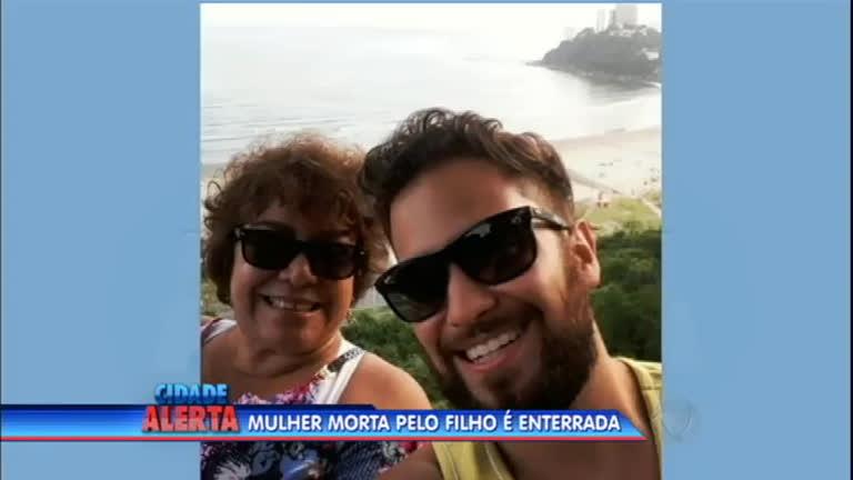 Corpo de mulher assassinada pelo filho é enterrado em Itapecerica ...