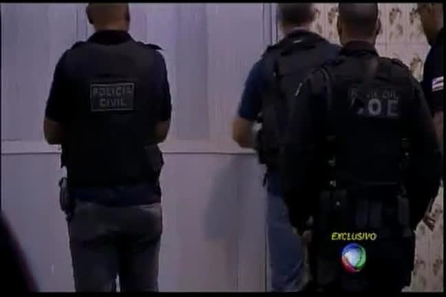 Polícia faz operação para prender organização criminosa