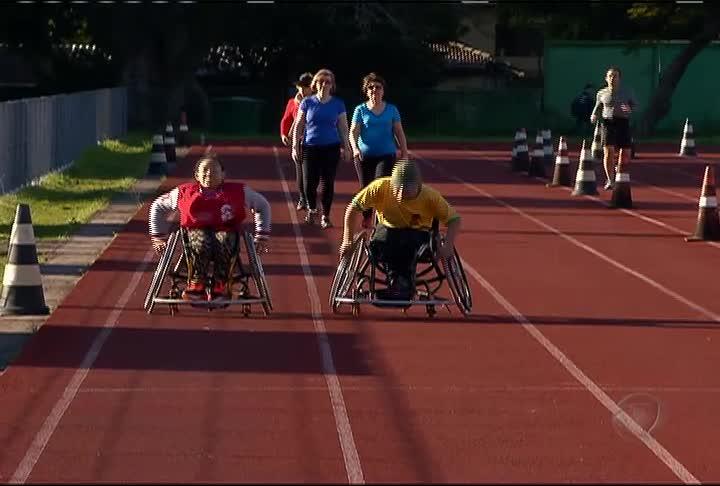 A superação dos talentos paralímpicos