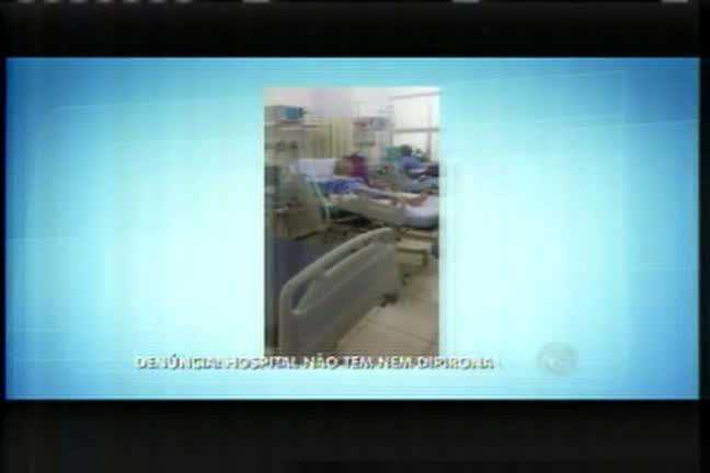 Médico denuncia precariedade em hospital de Ribeirão das Neves ...