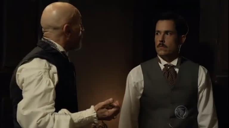 Quintiliano encontra pepita de ouro no quarto de Guilherme