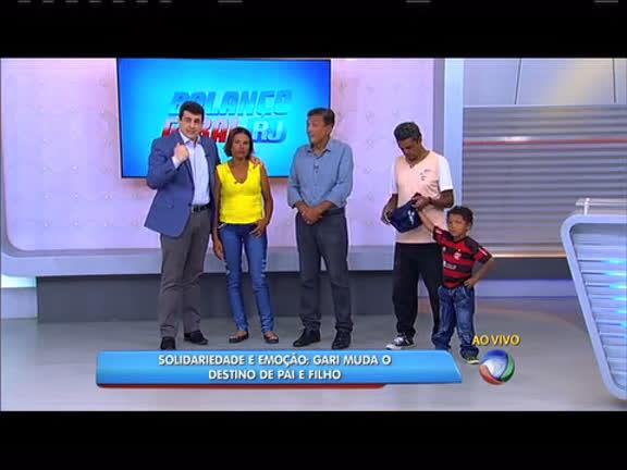 Gari muda o destino de pai e filho que moravam na praia de Ipanema