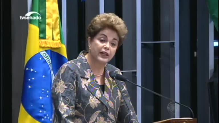 Impeachment: Dilma Rousseff apresenta própria defesa no Senado