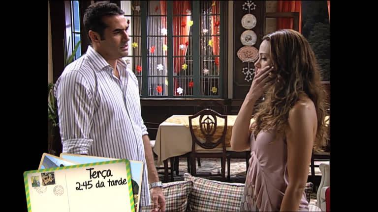 Noivado de Alice e Felipe chega ao fim nesta terça em Amor…