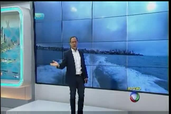 Turista se deparam com esgoto na praia de Paramana - Bahia - R7 ...