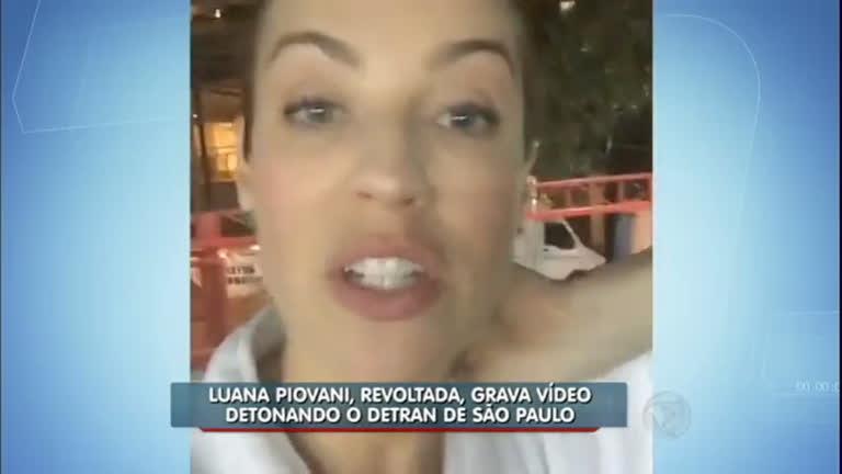 Hora da Venenosa: Luana Piovani fica irritada com 'puxão de orelha ...