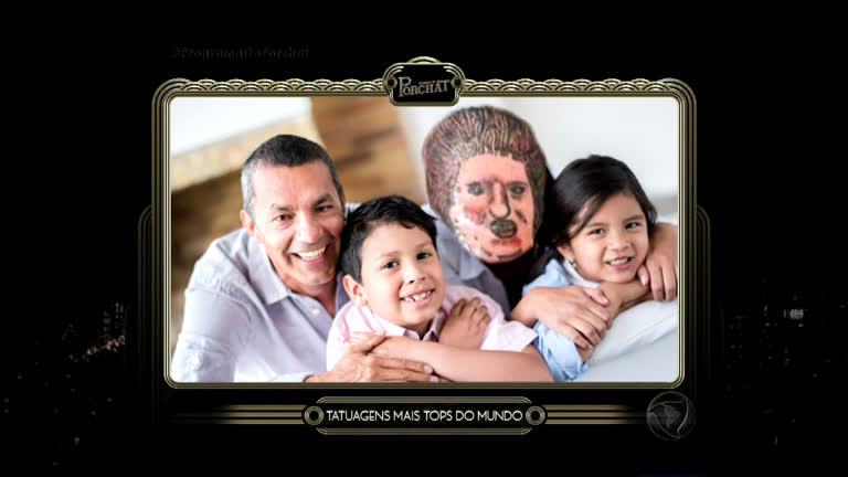 Porchat tenta explicar As Tatuagens Mais Tops do Mundo ...