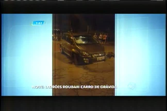 Dupla é presa ao roubar carro de grávida no bairro Goiânia, em BH ...