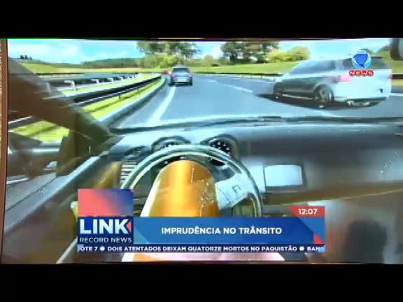 Motoristas brasileiros admitem imprudência ao volante - Record ...