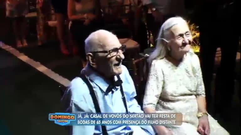 Casal de idosos que vive no sertão ganha festa ao completar 65 ...